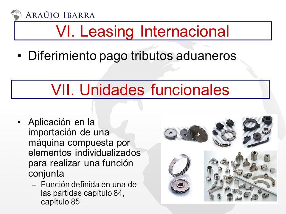 VI. Leasing Internacional
