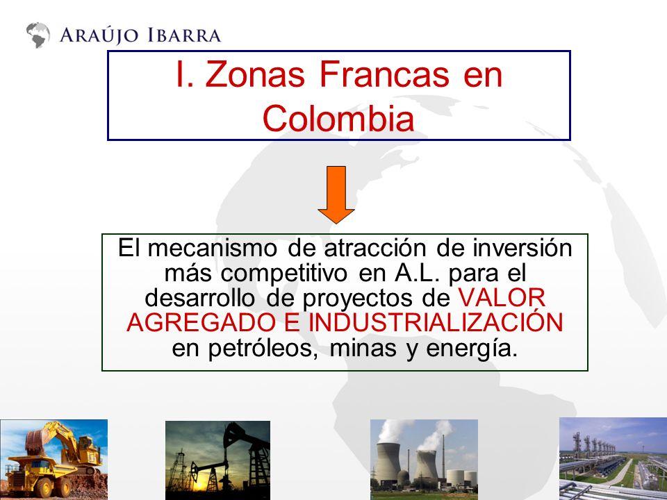 I. Zonas Francas en Colombia