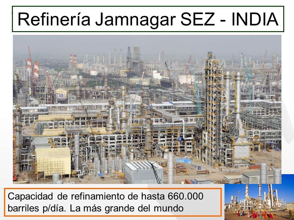 Refinería Jamnagar SEZ - INDIA