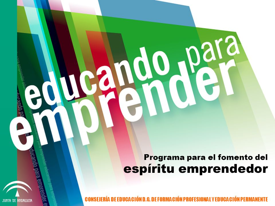 Programa para el fomento del espíritu emprendedor