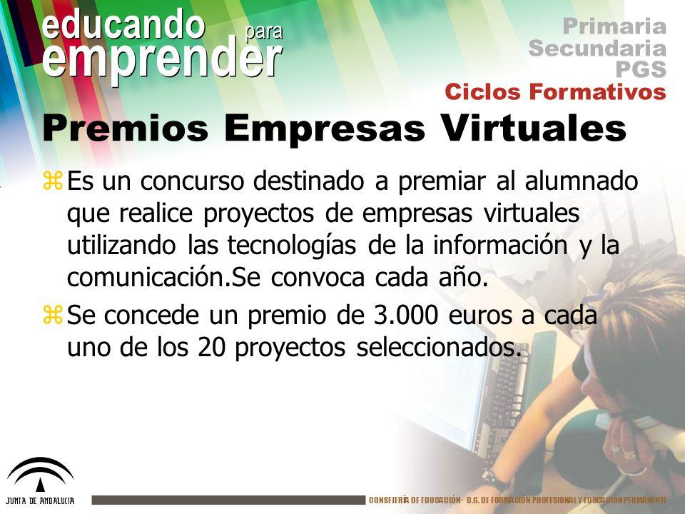 Premios Empresas Virtuales