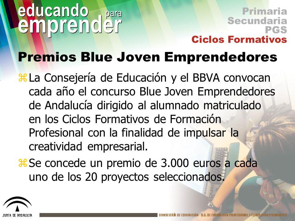Premios Blue Joven Emprendedores