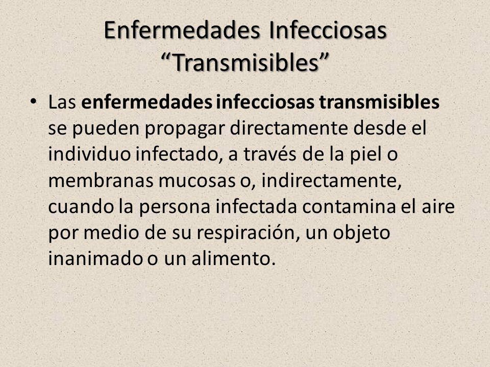 Enfermedades Infecciosas Transmisibles