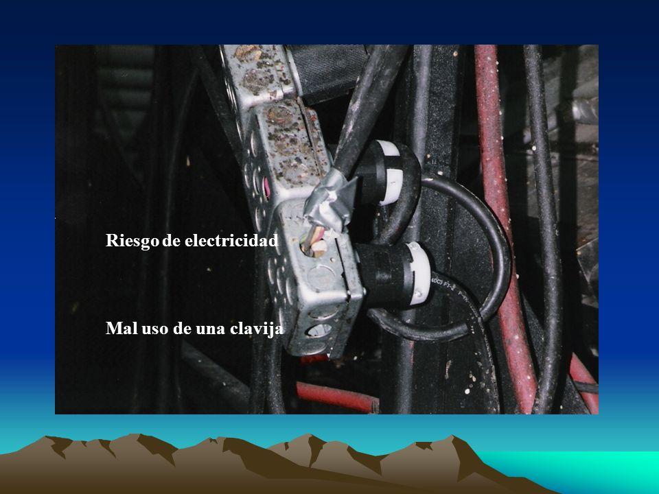 Riesgo de electricidad