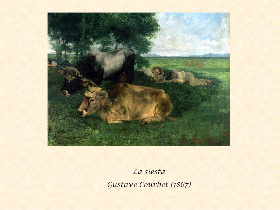 La siesta Gustave Courbet (1867)