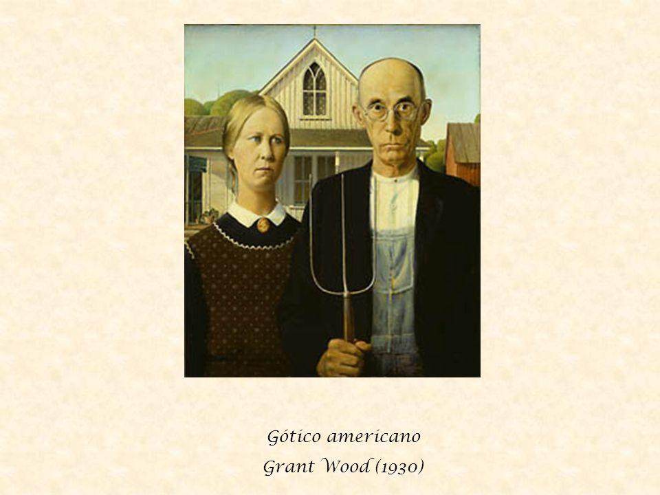 Gótico americano Grant Wood (1930)