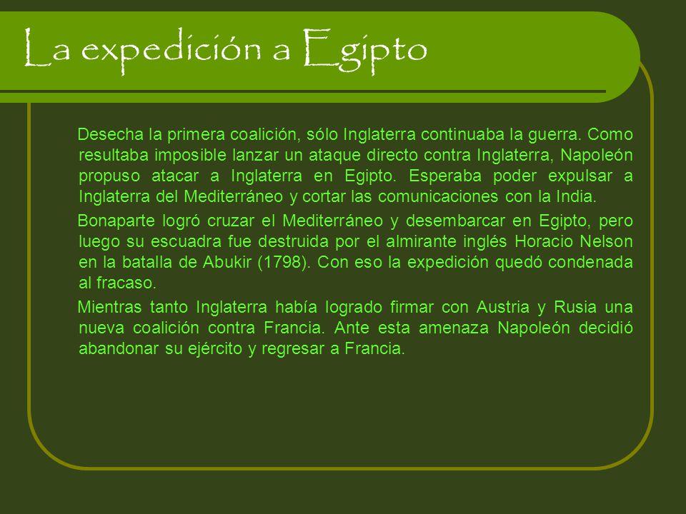 La expedición a Egipto