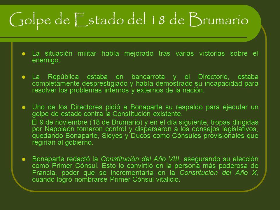 Golpe de Estado del 18 de Brumario