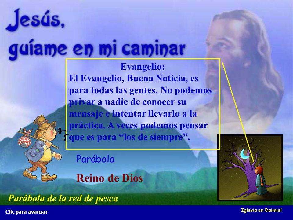 Reino de Dios Evangelio: