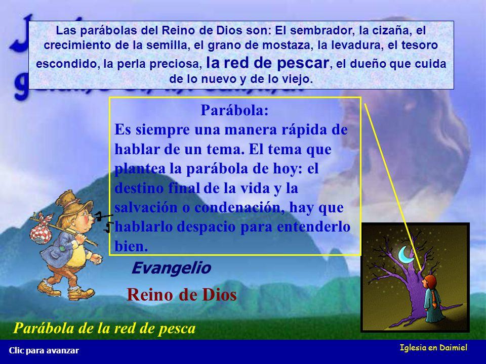 Reino de Dios Parábola: