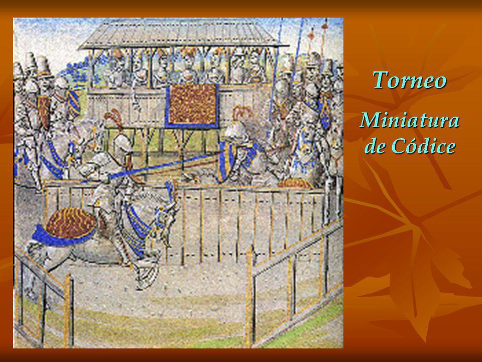 Torneo Miniatura de Códice