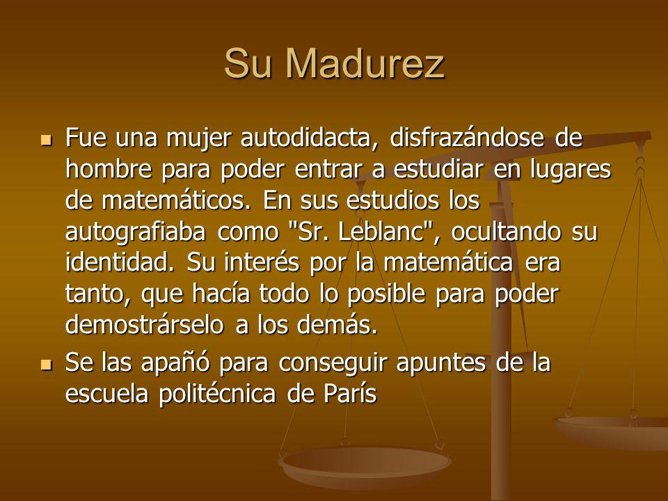Su Madurez