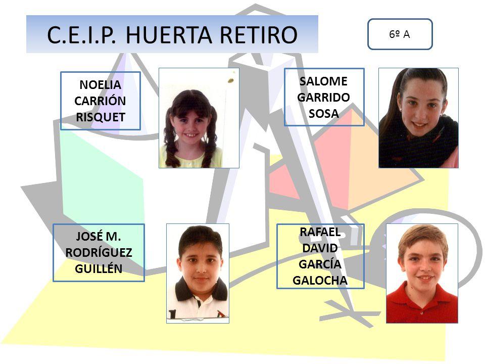 C.E.I.P. HUERTA RETIRO SALOME GARRIDO SOSA NOELIA CARRIÓN RISQUET