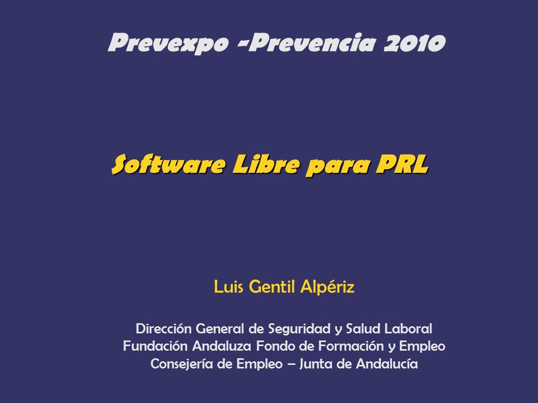 Software Libre para PRL