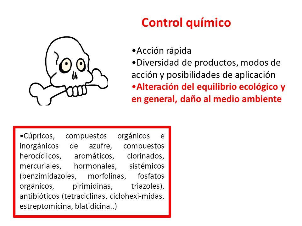 Control químico Acción rápida