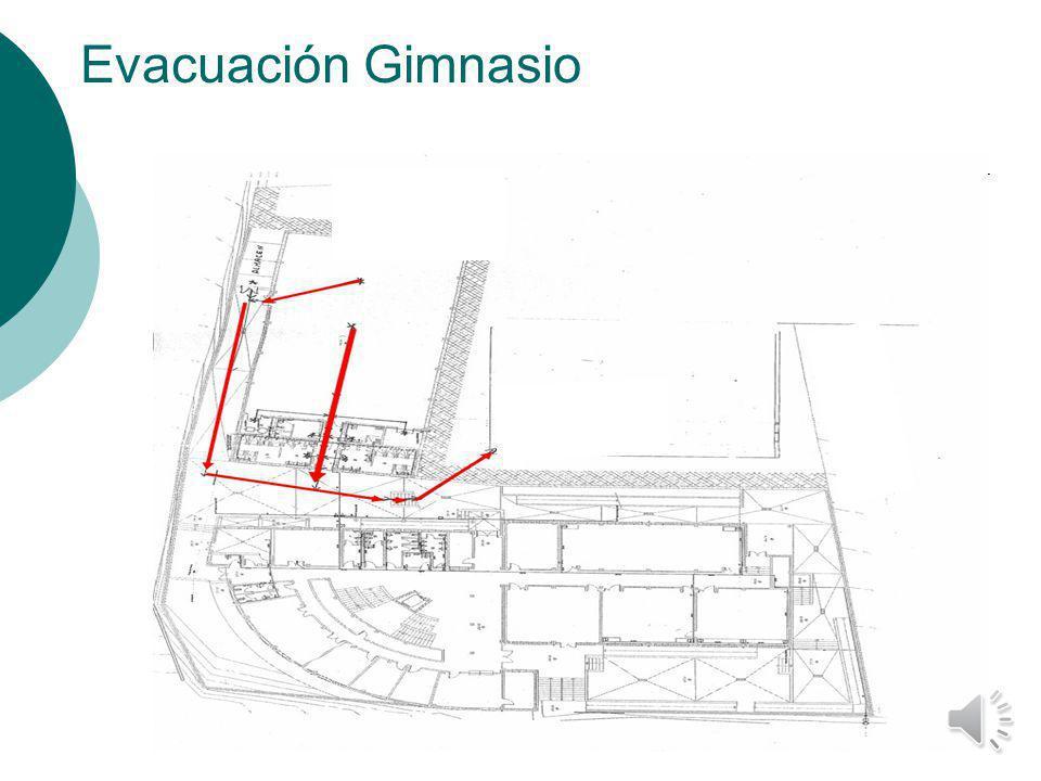 Evacuación Gimnasio