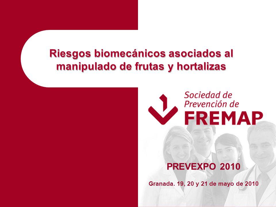 Riesgos biomecánicos asociados al manipulado de frutas y hortalizas