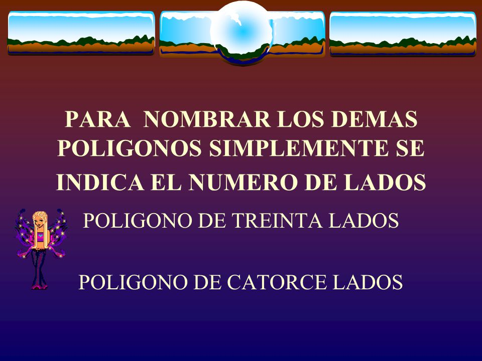 POLIGONO DE TREINTA LADOS POLIGONO DE CATORCE LADOS
