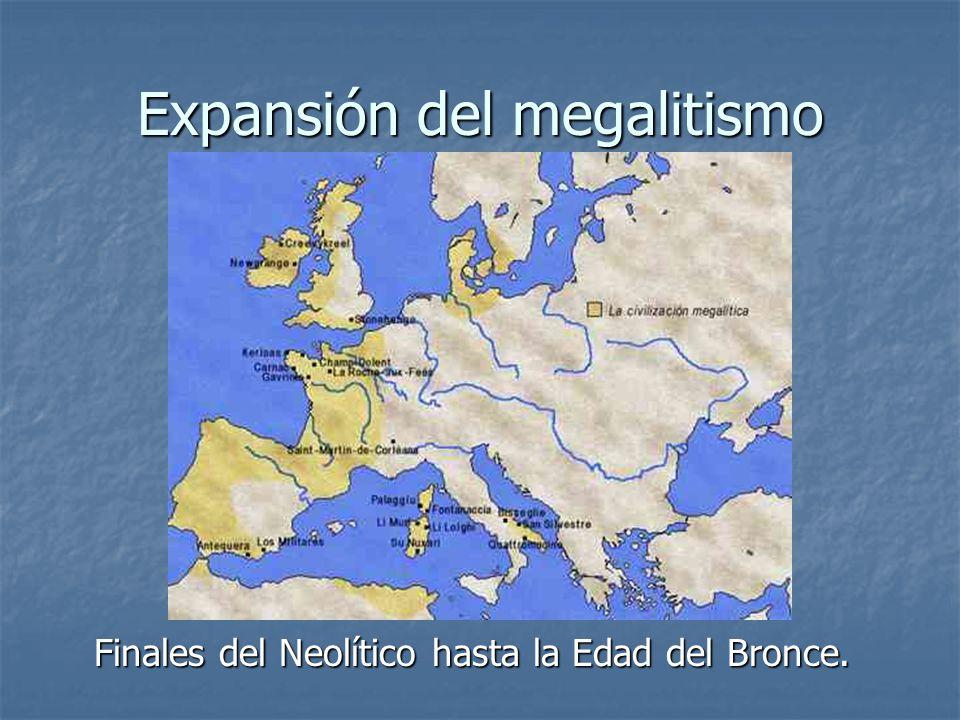 Expansión del megalitismo