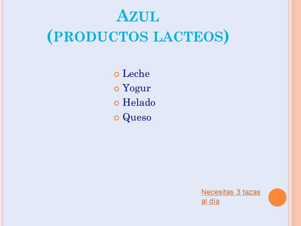 Azul (productos lacteos)