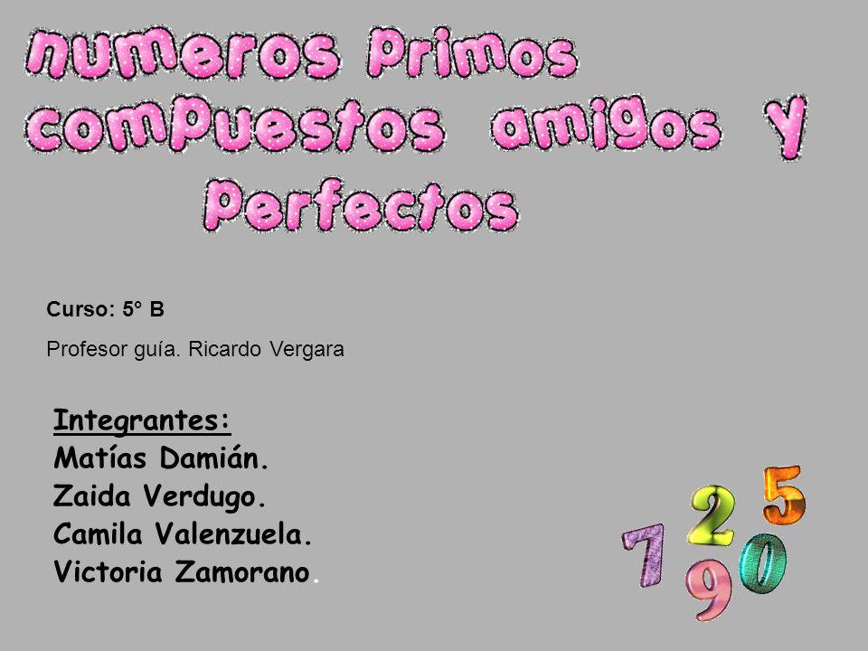 Integrantes: Matías Damián. Zaida Verdugo. Camila Valenzuela.