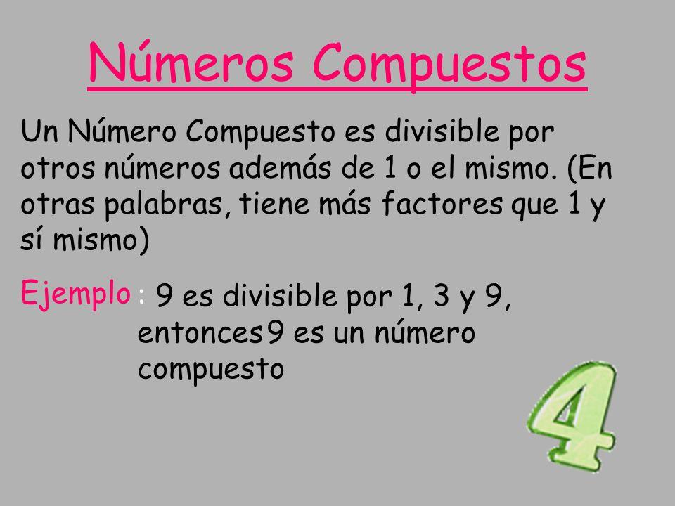 Números Compuestos