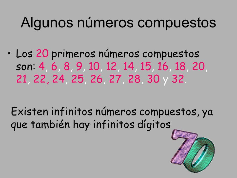 Algunos números compuestos