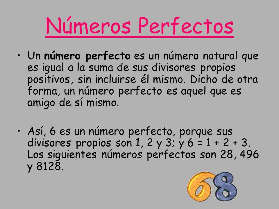 Números Perfectos