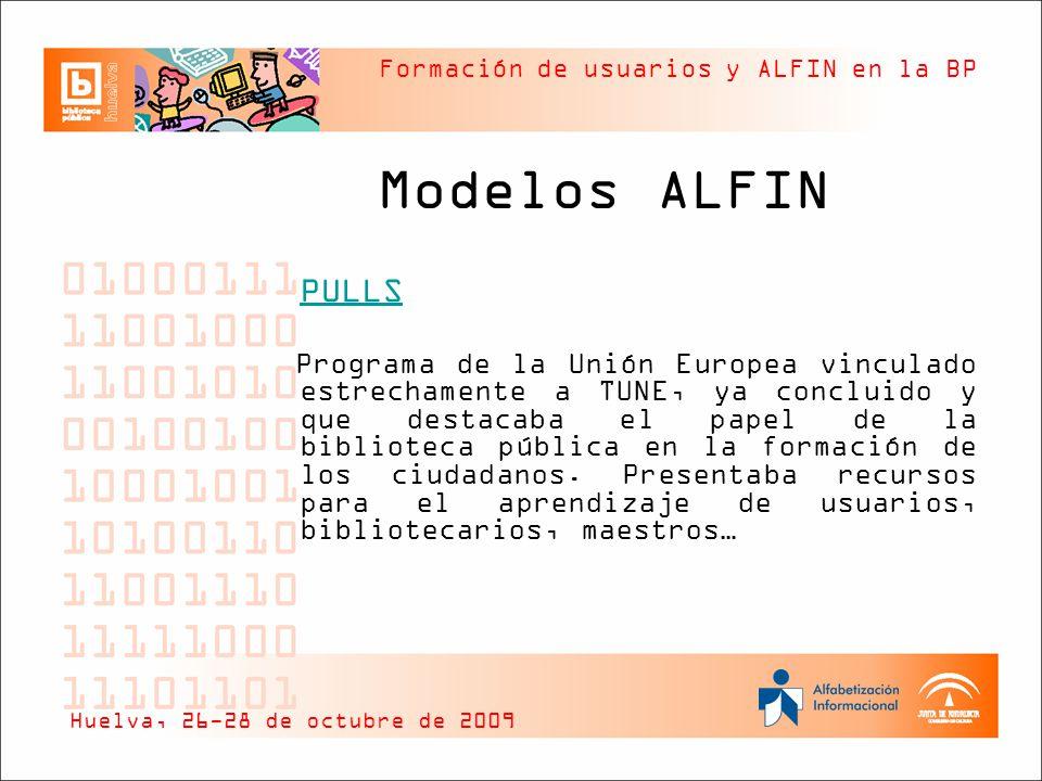 Modelos ALFIN PULLS.