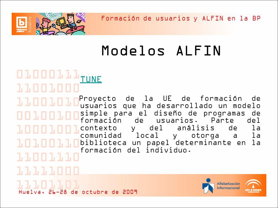 Modelos ALFIN TUNE.