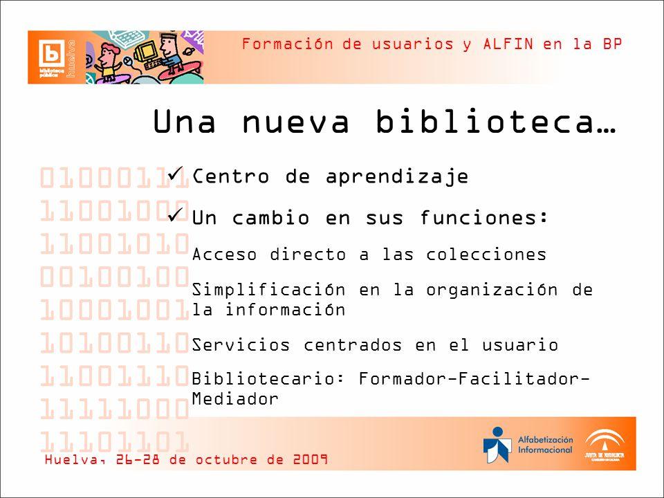 Una nueva biblioteca… Centro de aprendizaje