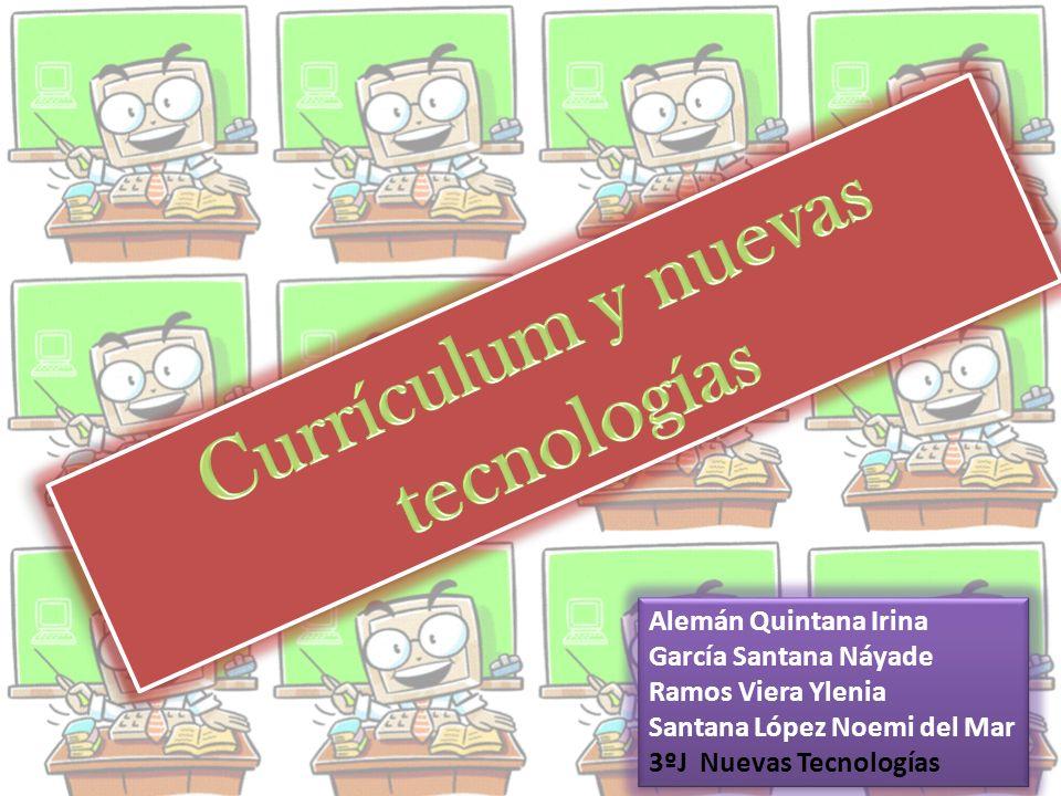 Currículum y nuevas tecnologías