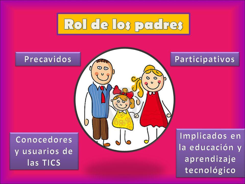 Rol de los padres Precavidos Participativos