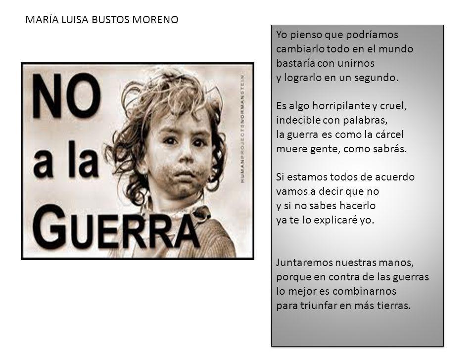 MARÍA LUISA BUSTOS MORENO