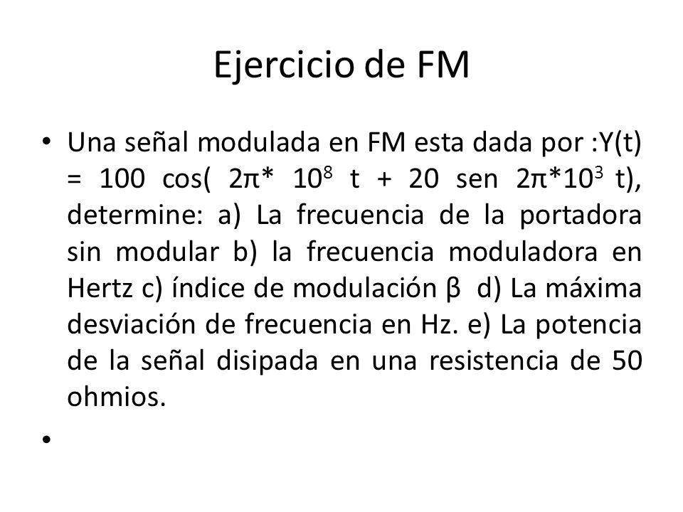 Ejercicio de FM