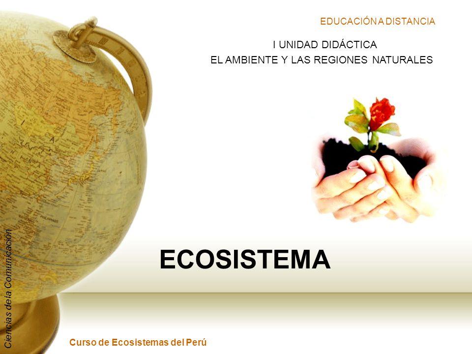 EL AMBIENTE Y LAS REGIONES NATURALES