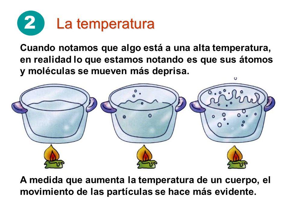 2 La temperatura.