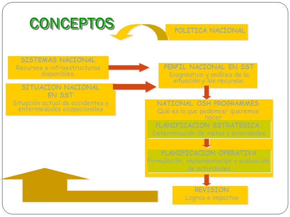 NATIONAL OSH PROGRAMMES PLANIFICACION OPERATIVA