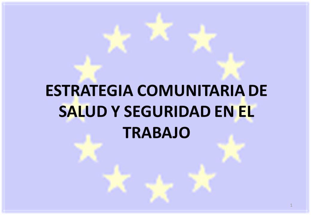 ESTRATEGIA COMUNITARIA DE SALUD Y SEGURIDAD EN EL TRABAJO