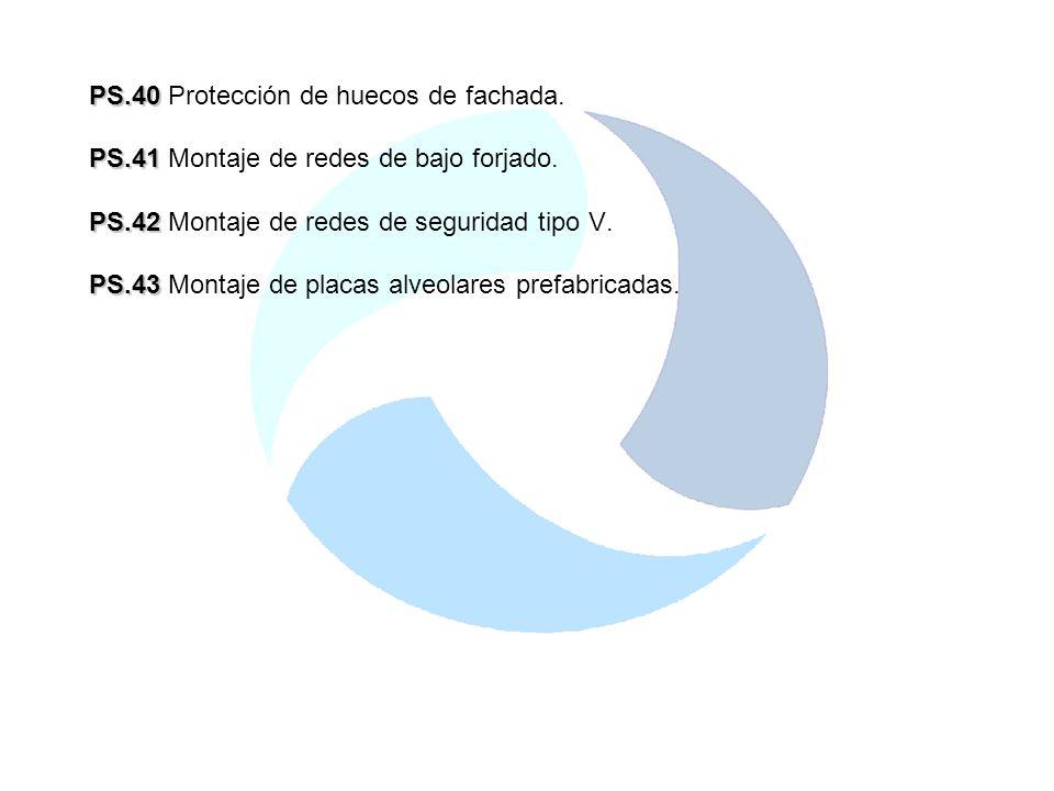 PS.40 Protección de huecos de fachada.