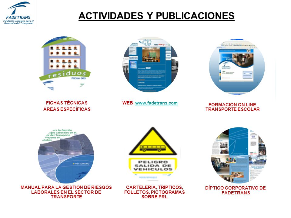 ACTIVIDADES Y PUBLICACIONES