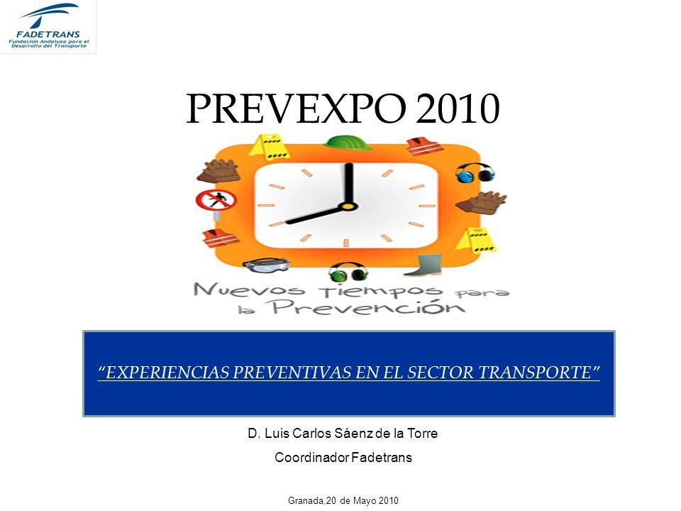 PREVEXPO 2010 EXPERIENCIAS PREVENTIVAS EN EL SECTOR TRANSPORTE