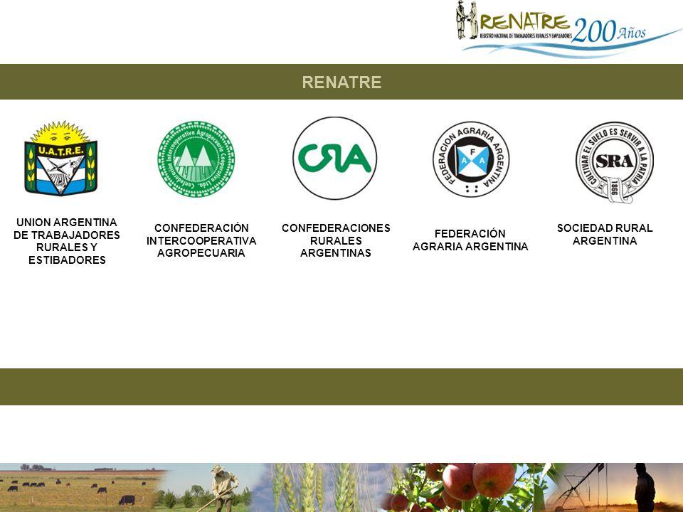 RENATRE UNION ARGENTINA DE TRABAJADORES RURALES Y ESTIBADORES