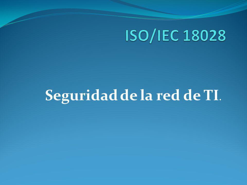 Seguridad de la red de TI.