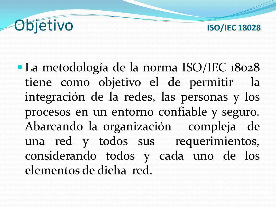 Objetivo ISO/IEC 18028