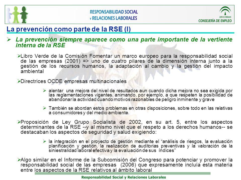 La prevención como parte de la RSE (I)