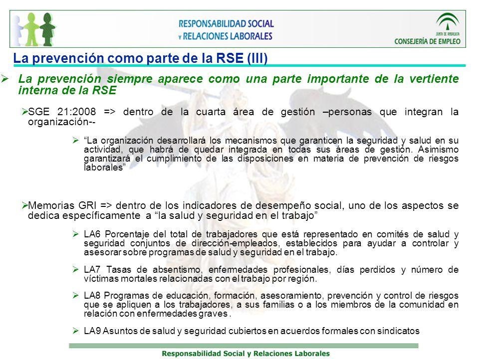 La prevención como parte de la RSE (III)