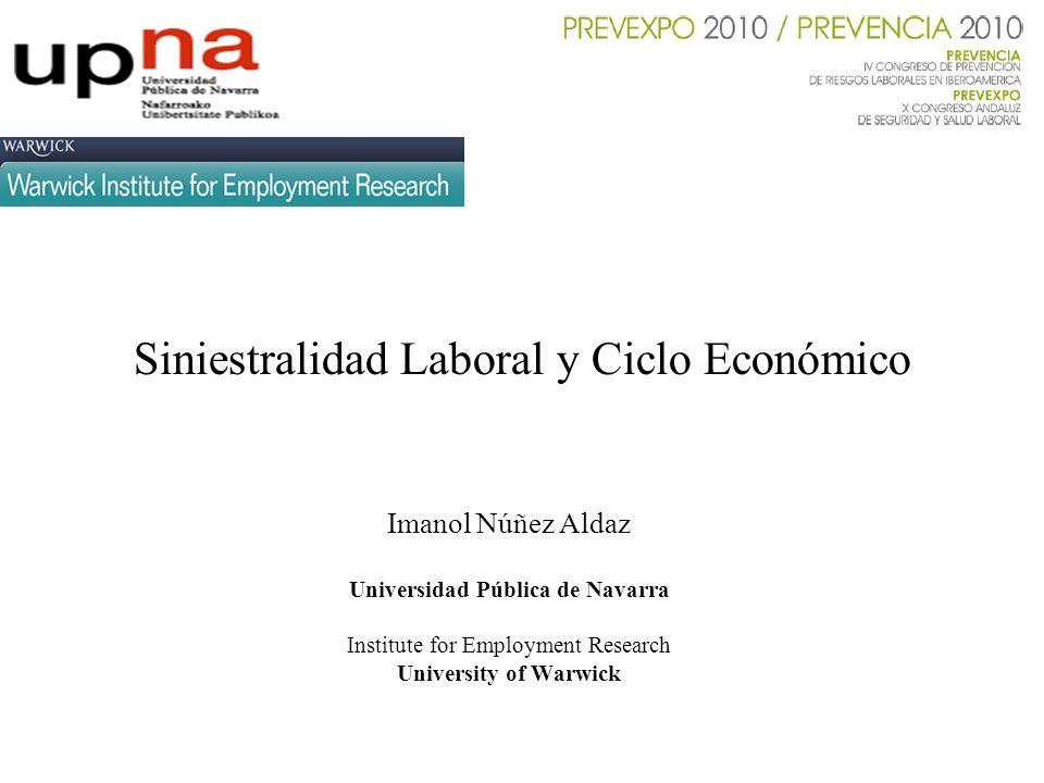 Siniestralidad Laboral y Ciclo Económico