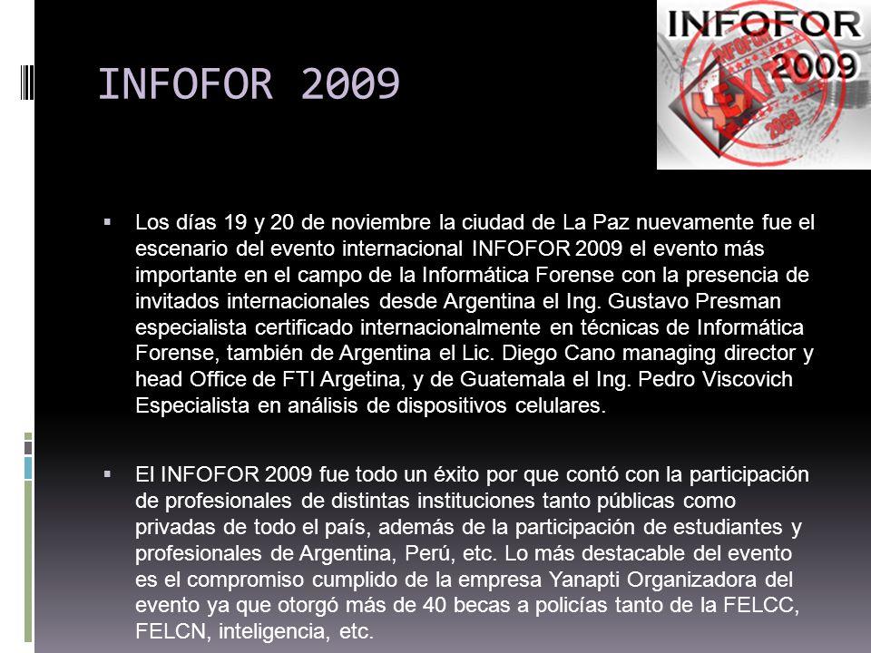 INFOFOR 2009