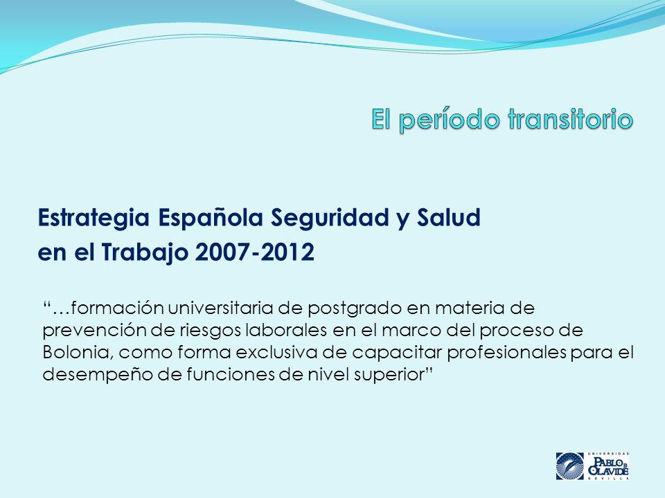El período transitorio